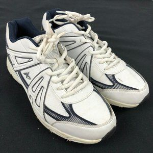 Athletech Shoes 9.5 Wide  white Sneakers Memory Fo